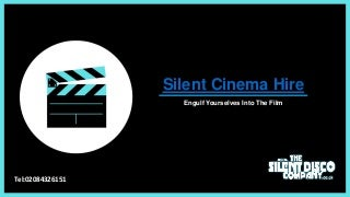 Silent Cinema Hire - The Silent Disco Company