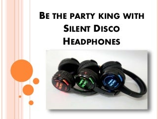 Silent Disco Headphones In Hyderabad, Silent Party - Grotal