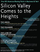 Silicon Valley Comes to the Heights - Boston College - 9/12/13 - Four BC Alumnae Blazing Trails in Business & Tech