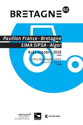 La Bretagne au SIMA SIPSA 2018