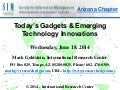Sim AZ -  Today's Gadgets & Emerging Tech Innovations 6/18/14