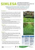 Scaling improved feed and forage technologies at selected ILRI‐SIMLESA project locations in Ethiopia and Tanzania