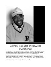 Russell Simmons on Racism in Hollywood