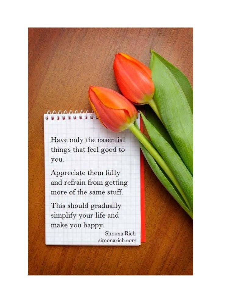 Happiness Quote Simona Rich