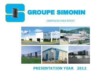 Simonin group presentation 2013