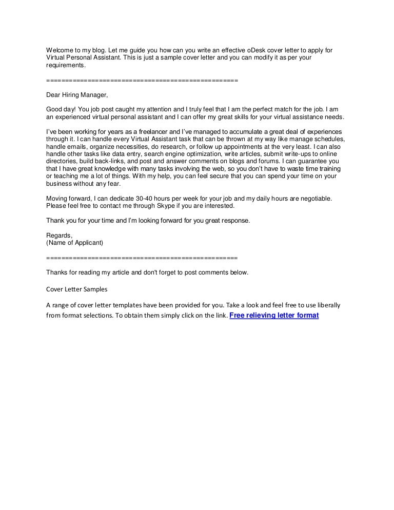 Simple Cover Letter Sample Top Photos Best