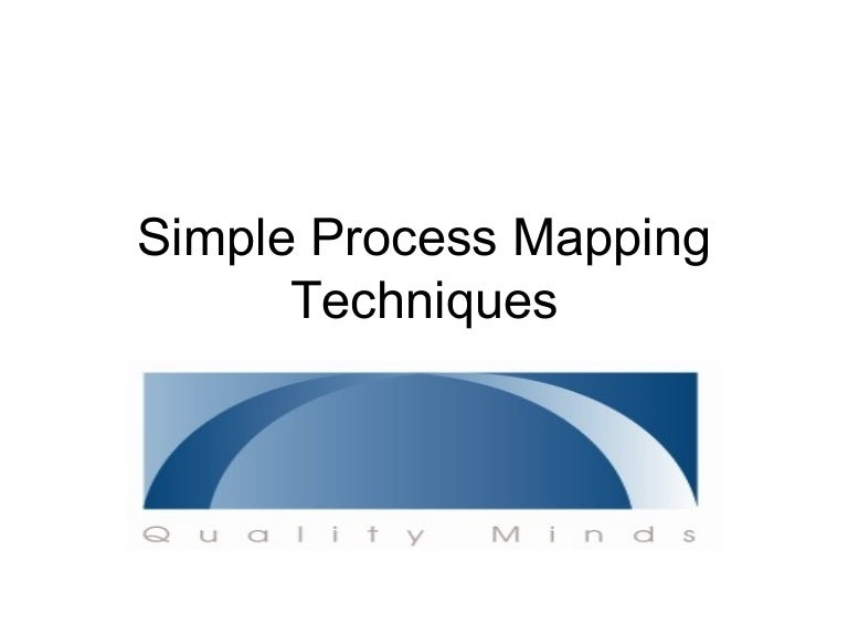 simple process mapping techniques