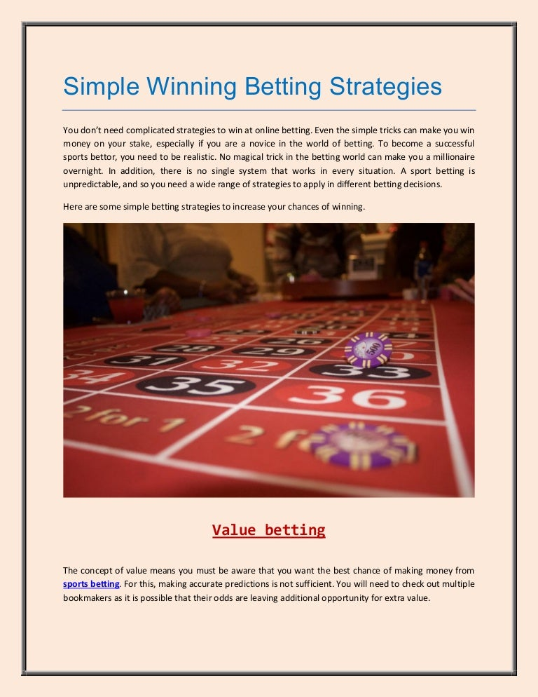 Winning betting strategies binary options canada reviews