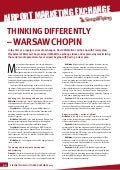 SimpliFlying Featured: Thinking Differently- Warsaw Chopin