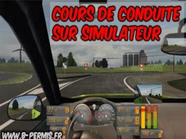 cours de conduite sur simulateur en auto cole. Black Bedroom Furniture Sets. Home Design Ideas