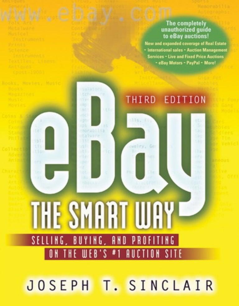 Sinclair Joseph Ebay The Smart Way
