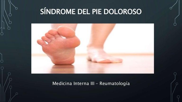 Sindrome del pie doloroso