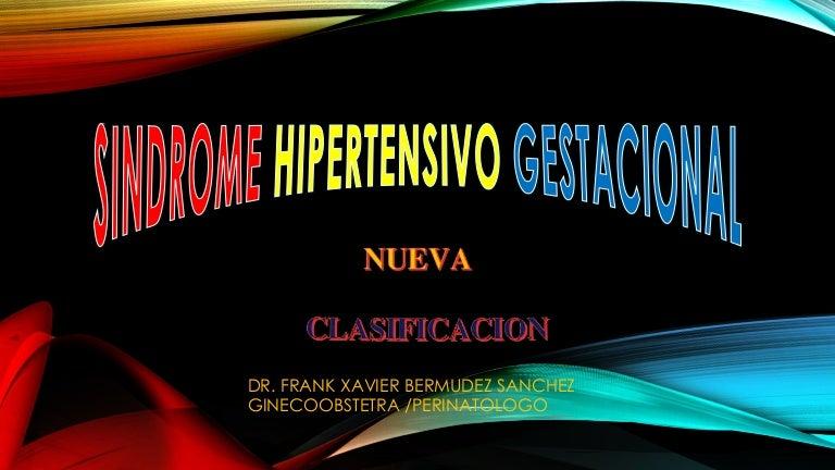 Hipertensión pulmonar nueva clasificación de enfermedades periodontales