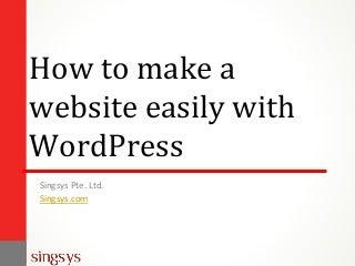 How to Create WordPress Website in Easy Steps