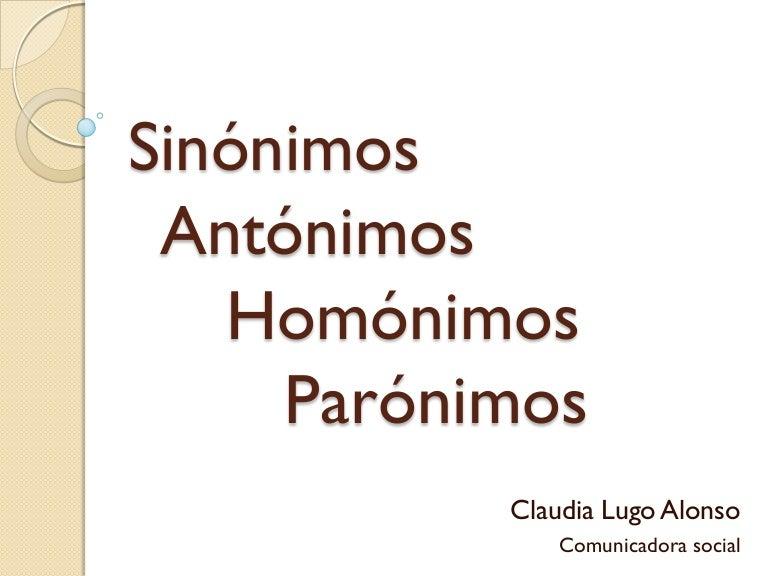 Artesanato O Que É ~ Sinónimos, antónimos, homónimos y parónimos