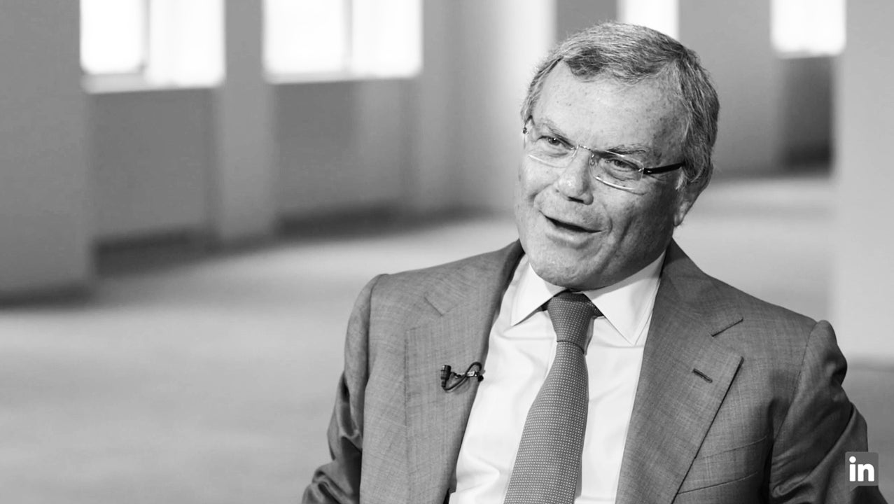 "Sir Martin Sorrell on Work: ""This Is Not a Chore for Me"""