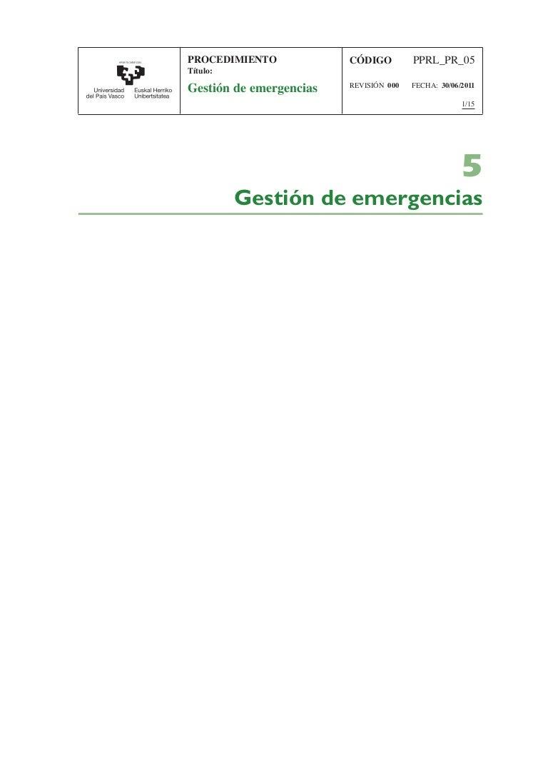 Sistema de gestion de respuesta a emergencias