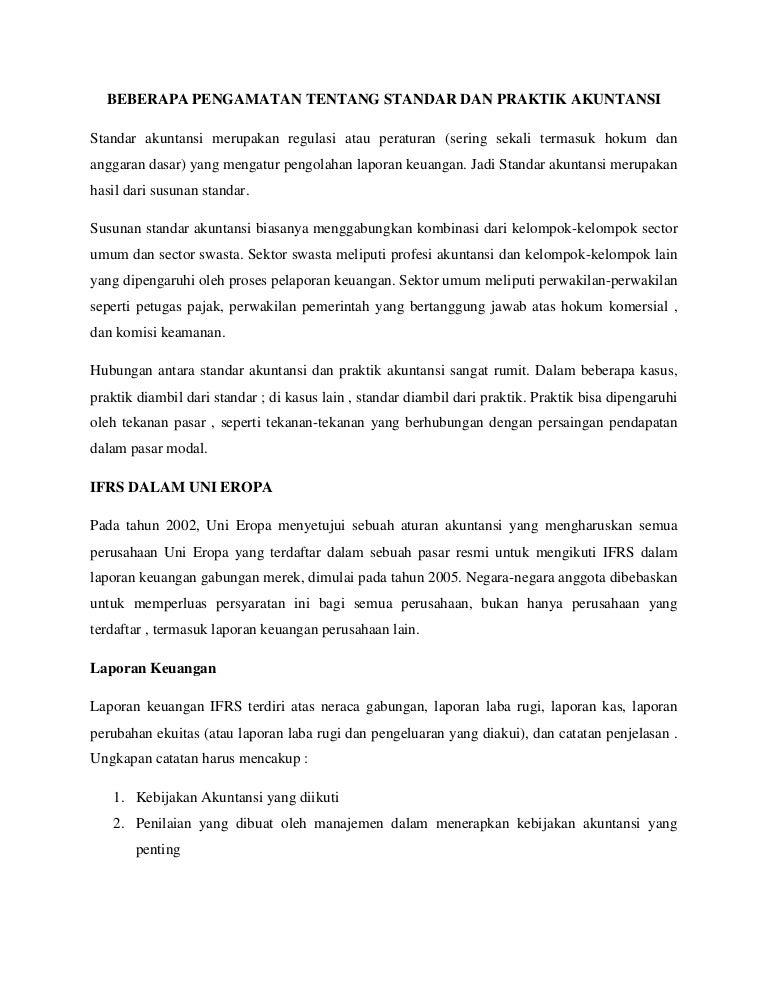 Sistem Akuntansi Keuangan Lima Negara