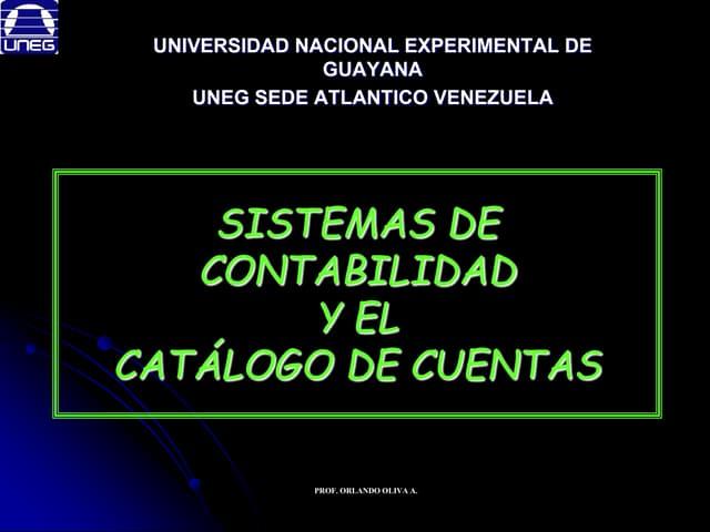 Sistemas contabilidad