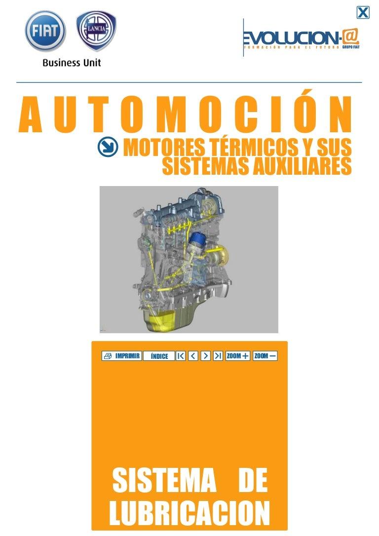 Circuito Hidraulico Mixto : Sistemas de lubricación