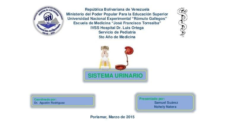 Sistema urinario, ITU, RUV