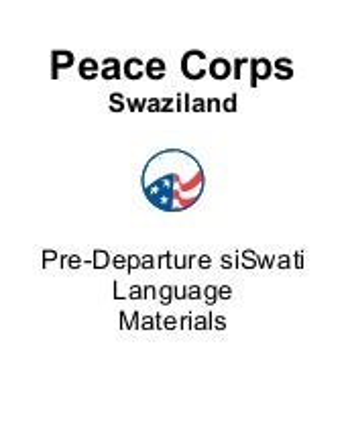 Basic siSwati Language Course