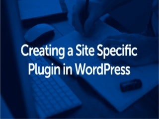 Site Specific Plugin In WordPress: The What and How of it?