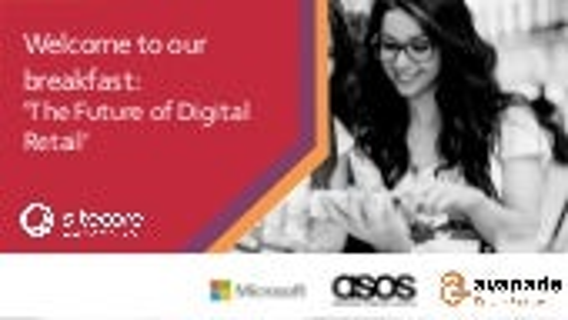 Sitecore & Microsoft Breakfast: Sitecore opening address