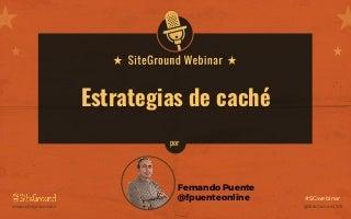 Estrategias de caché con WordPress