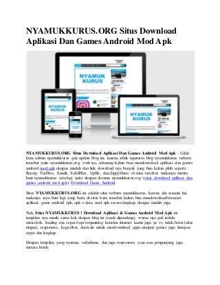 Situs Download Aplikasi Dan Games Android Mod Apk.pdf