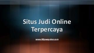 judi online wiki