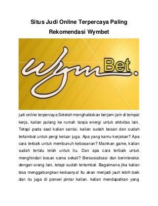 judi online malaysia