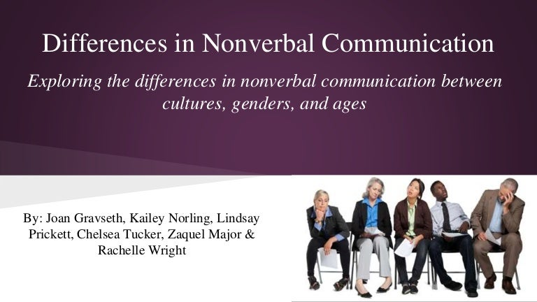 an analysis of nonverbal sex differences Nonverbal sexual differences essay research paper nonverbal sex differences if you are not already concerned about differences between men and women you will be knowing and understanding those differences can determine how successful your marriage a.