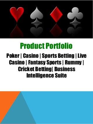 SJM Online Gambling Software For Poker, Casino, Sports Betting, Fantasy Sports