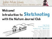 Introduction to Sketchnoting :: Nature Journal Club [Tue-Thu, Mar 8-10, 2016]