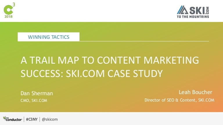 A Trail Map to Content Marketing Success on