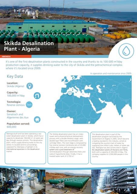 Skikda desalination plant