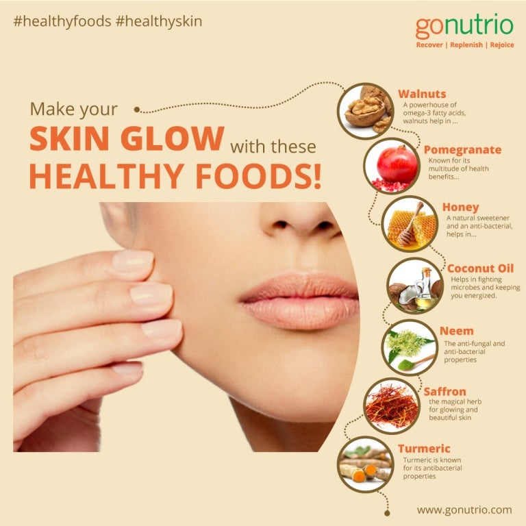 Good Stories Belong On Skin: 7 Healthy Foods That Will Make Your Skin Glow