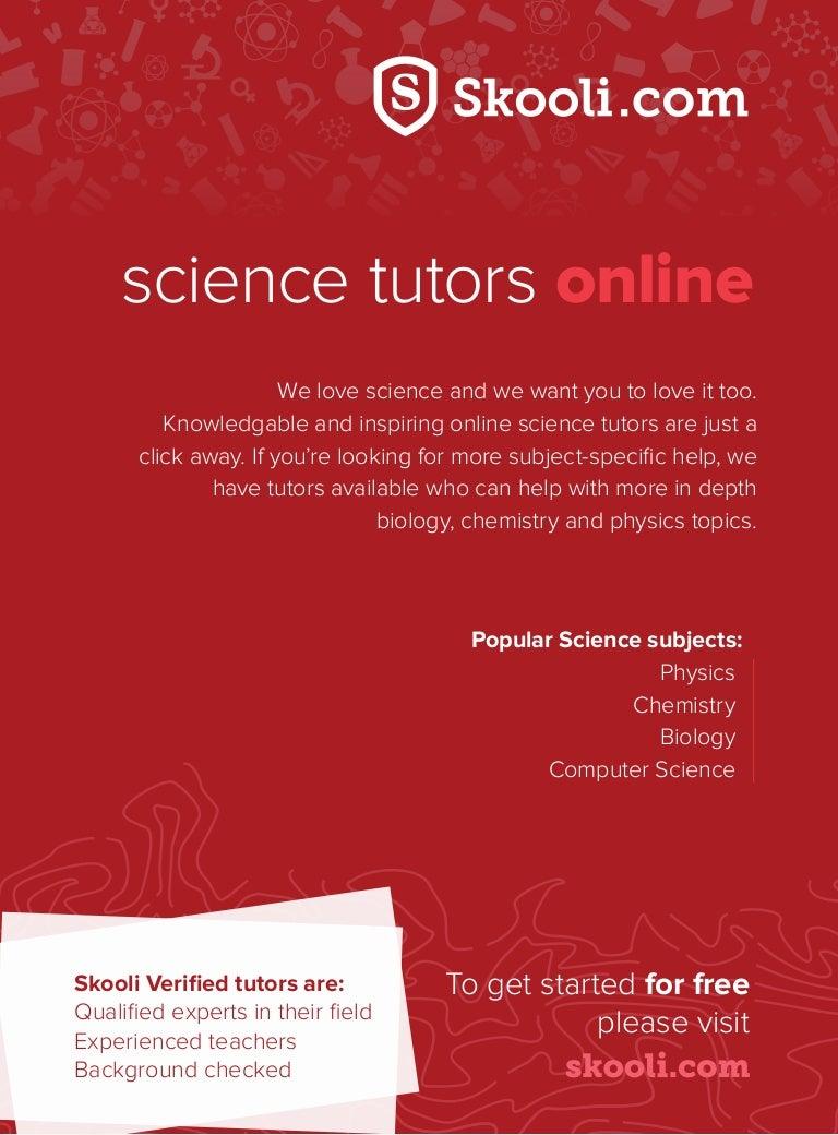 science tutors online by skooli