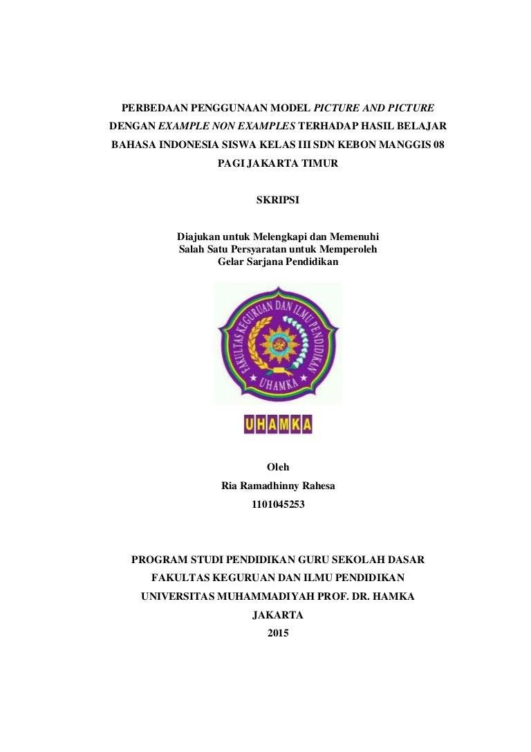 Skripsi Ria Ramadhinny Rahesa Nim 1101045253