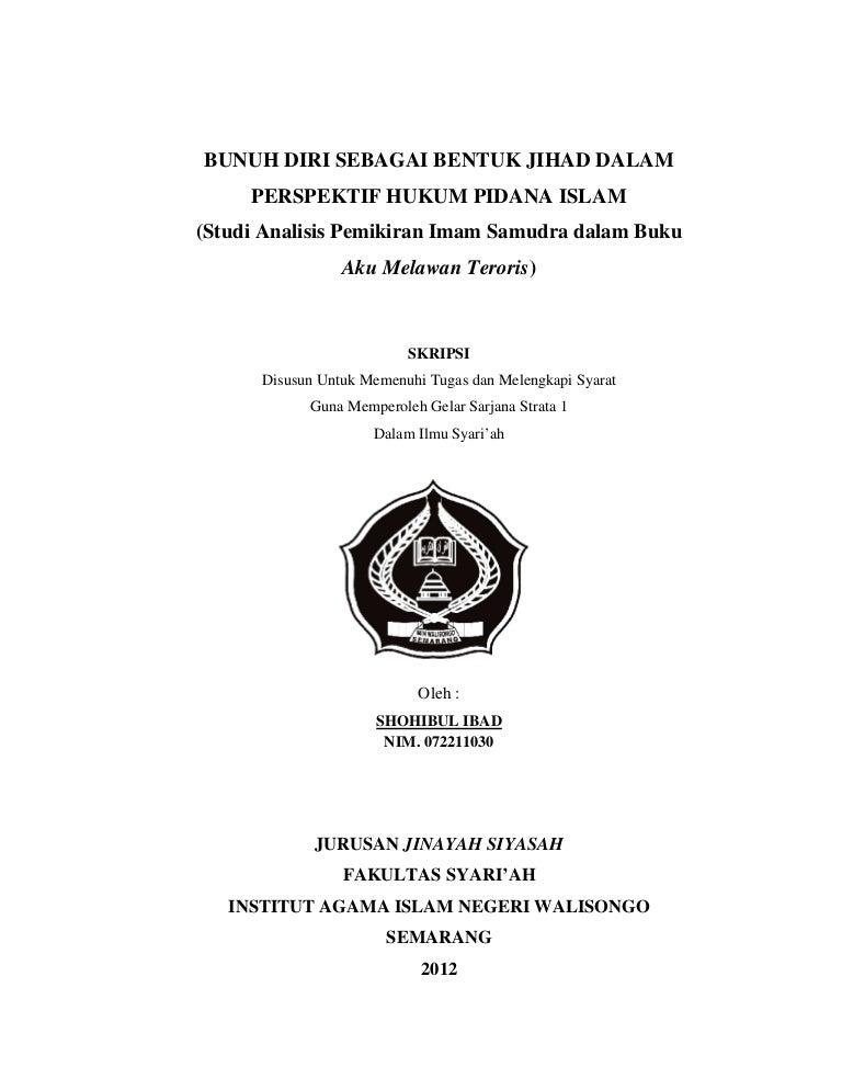 Ebook Aku Melawan Teroris