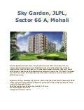 2BHK Sky Garden, JLPL, Sector 66 A, Mohali.