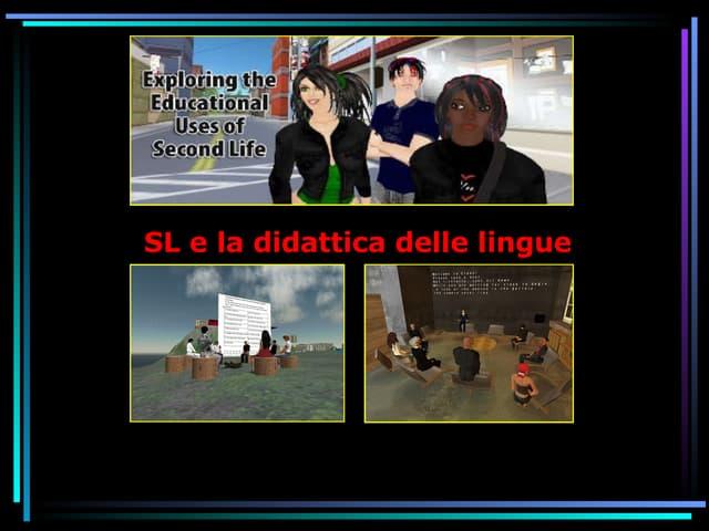 SL e la Didattica delle Lingue