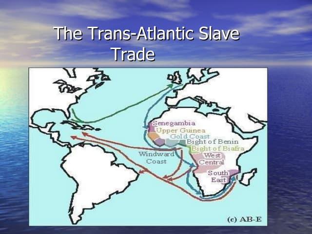 Slave trade, afst
