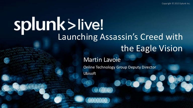 Launching Assassins Creed With The Eagle Vision