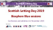 Scottish Letting Day 2019 - Biosphere Blue