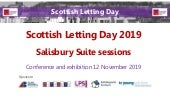 Scottish Letting Day 2019 - Salisbury Suite