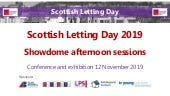 Scottish Letting Day 2019 - Showdome afternoon sessions