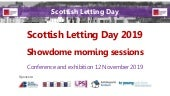 Scottish Letting Day 2019 - Showdome morning sessions