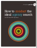 How to conduct an ideal agency search